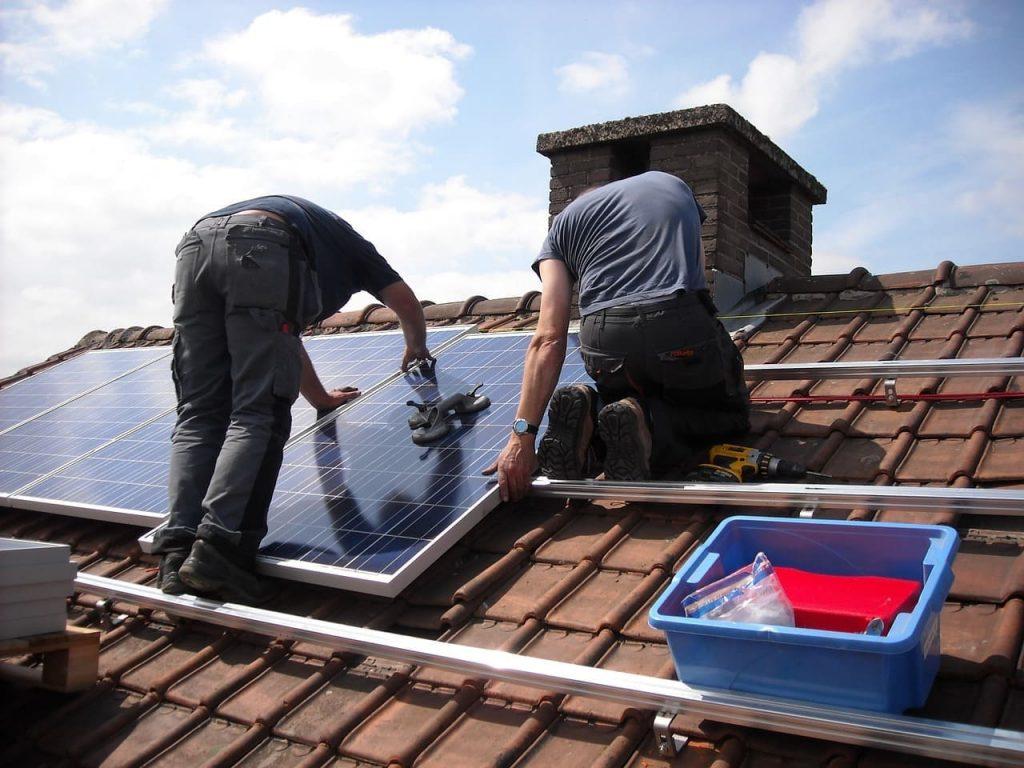 Kit solaire installation