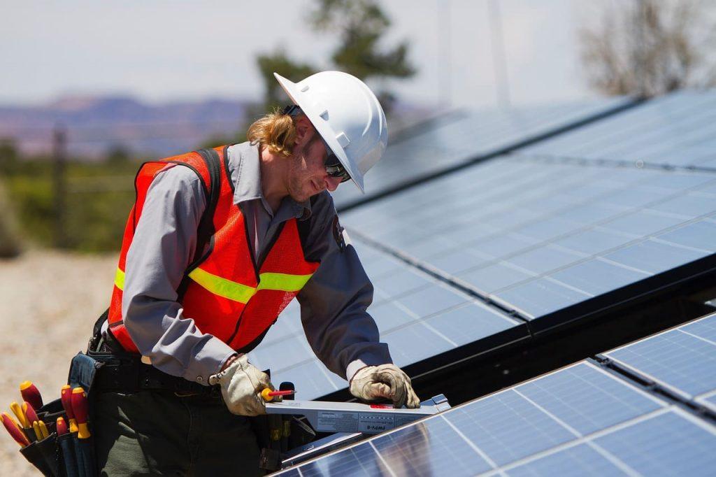 accident panneaux photovoltaïques