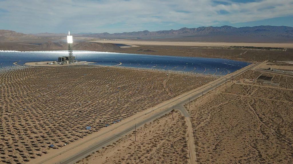 centrale solaire dans le monde