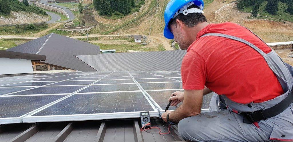 panneaux solaires et bruit