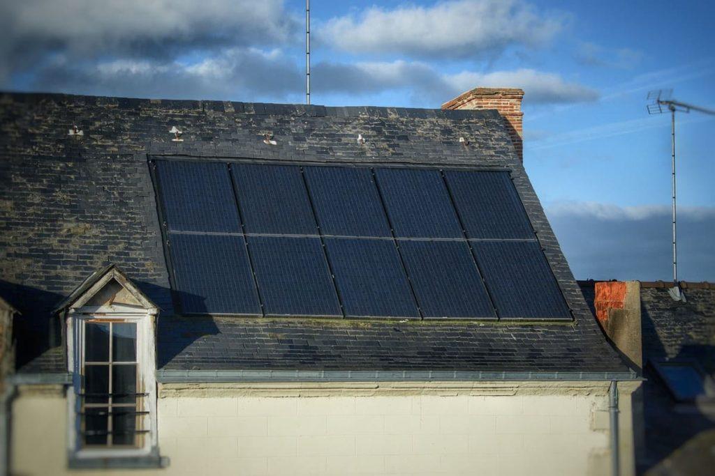 Panneaux solaires rénovation