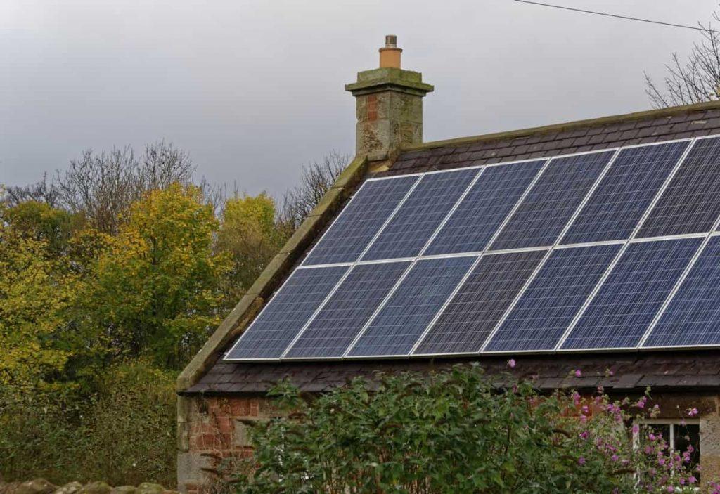 Déménagement panneaux photovoltaïques