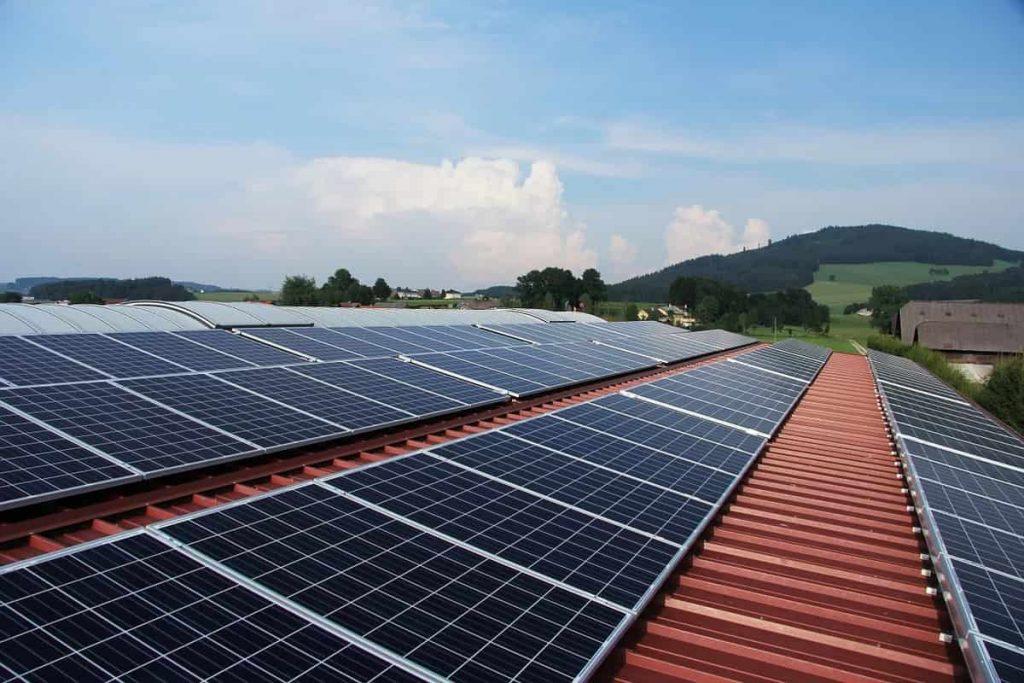 Amortissement panneaux solaires