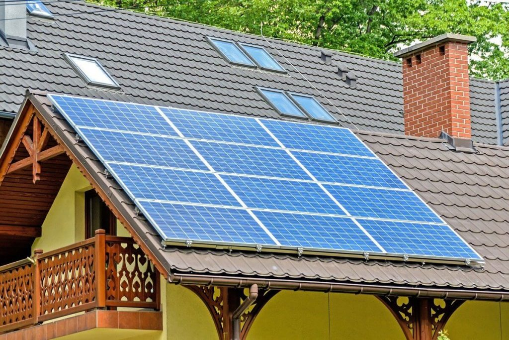 Chauffage solaire maison
