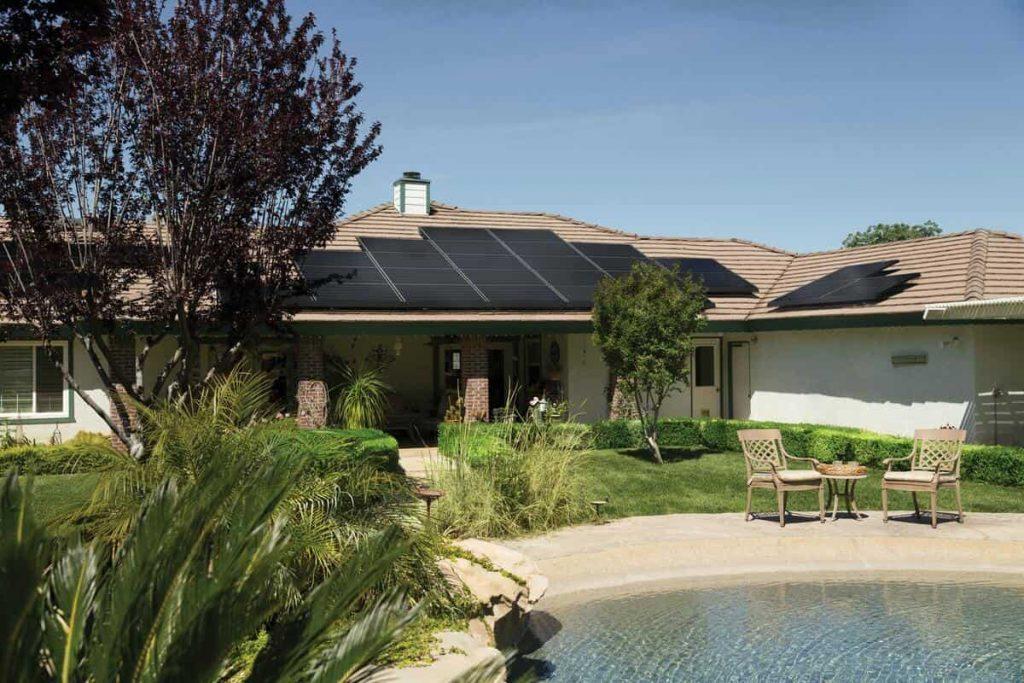 Maison solaire vente